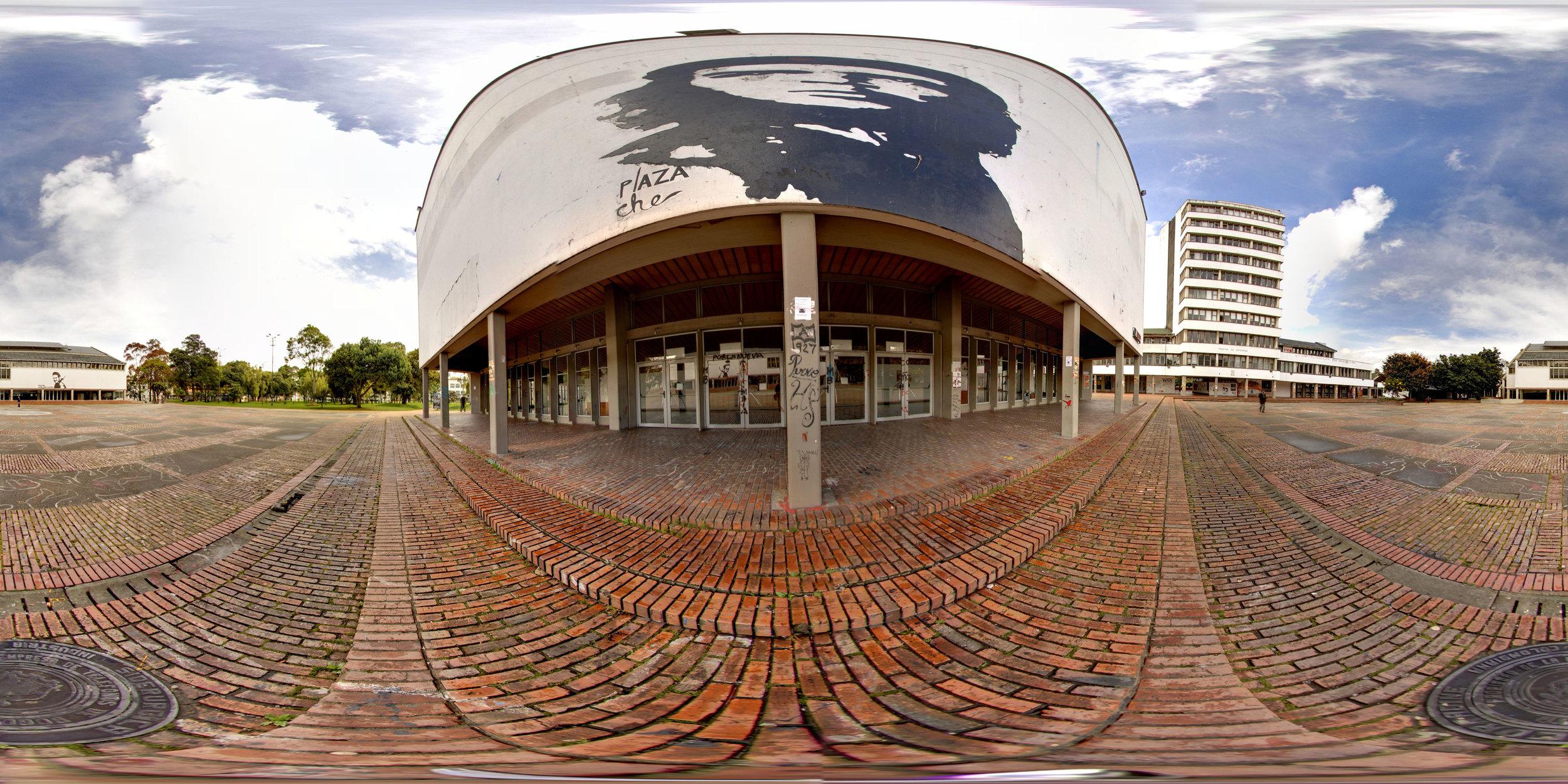 360° Plaza Che at the National Universidad de Bogotá