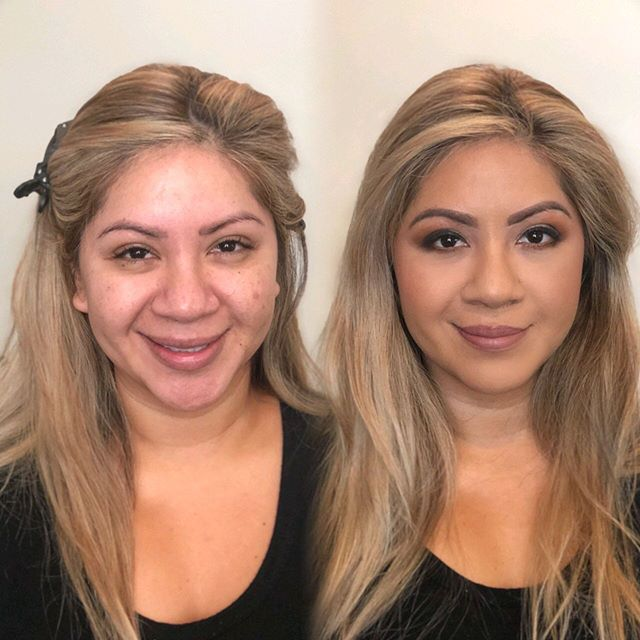 Love a morning glam ✨ . . . #makeup #mua #madeupla #makeupartist #motd #fotd #makeupaddict #vegas_nay #weddingwire  #beauty #glam #bookme #hudabeauty #morphegirl #theknot #mbmdolls #wedding #weddingmakeup #weddingglam #bride #bridalmakeup #bridesmaid #weddingseason #claremont #ranchocucamonga #losangeles #modernbrides #bridetribe