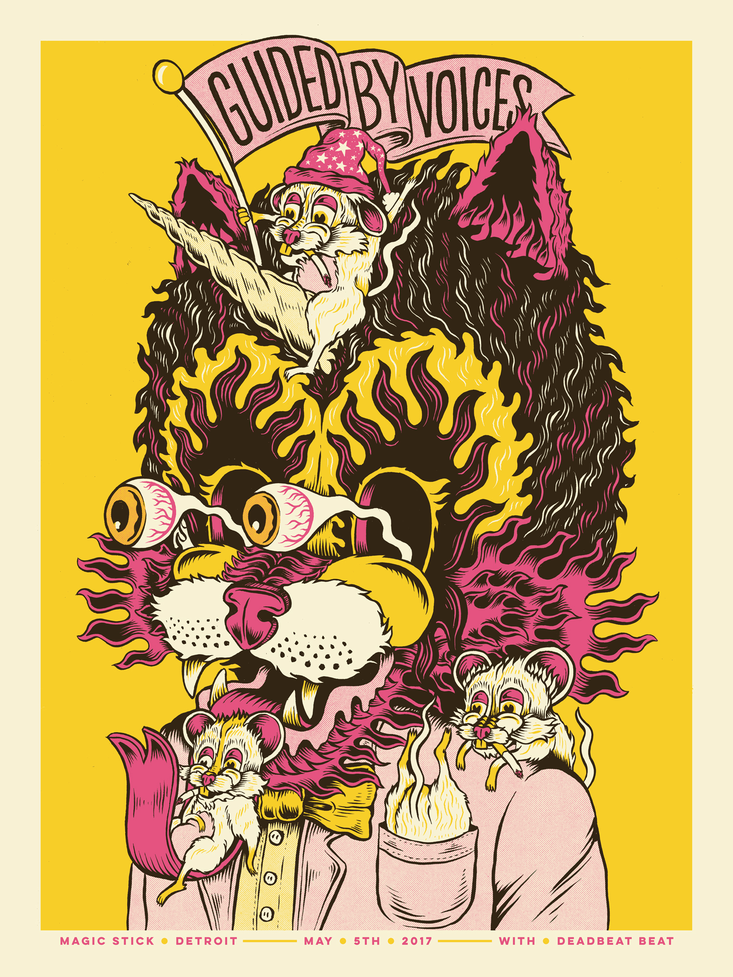 Guided By Voices Gig Poster