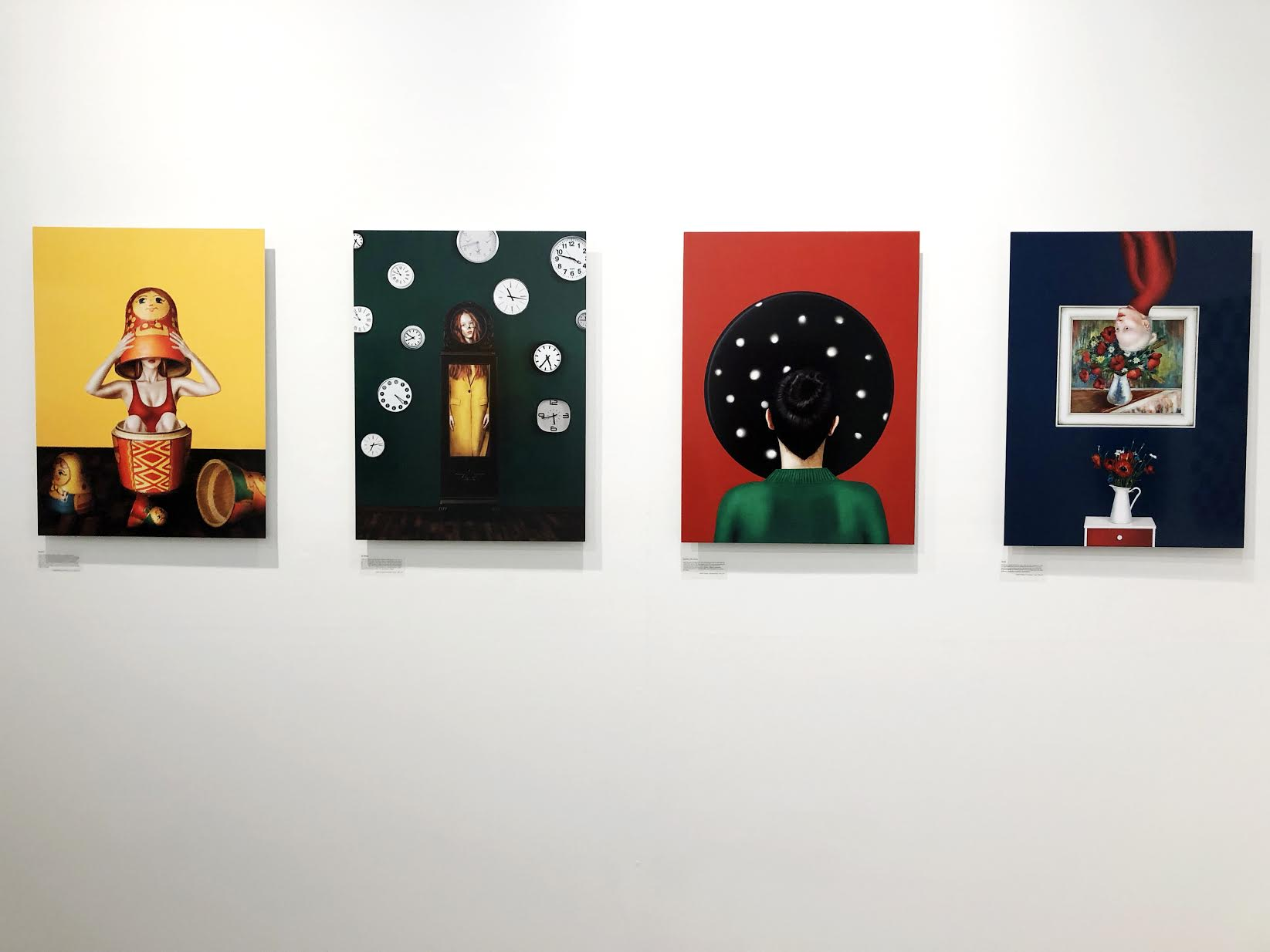 Feature Shoot/Print Swap Gallery show for Amelie Satzger and Lauren Menzies at UPI, New York