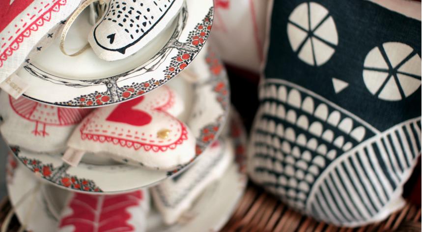 Some of Zeena's handmade wares.