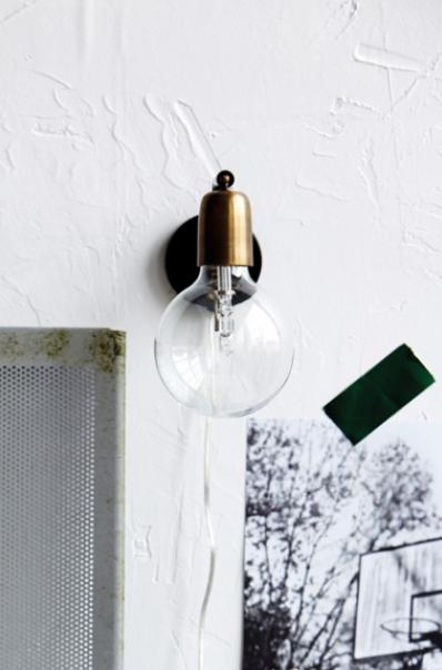 Molecular wall light, £110,  Rockett St George