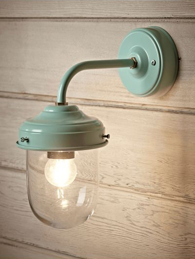 Stable light, £55,  Cox and Cox