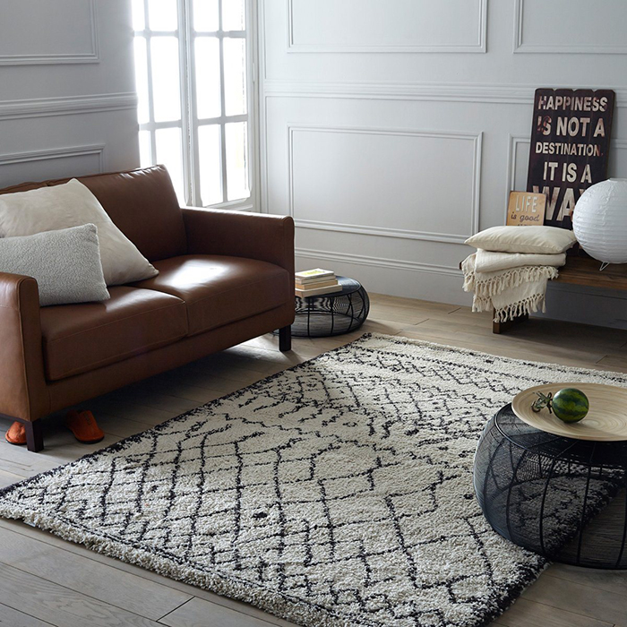 Afaw shaggy rug - from £99