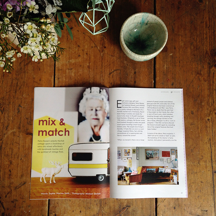 home tour feature from the mini print issue. (2014)