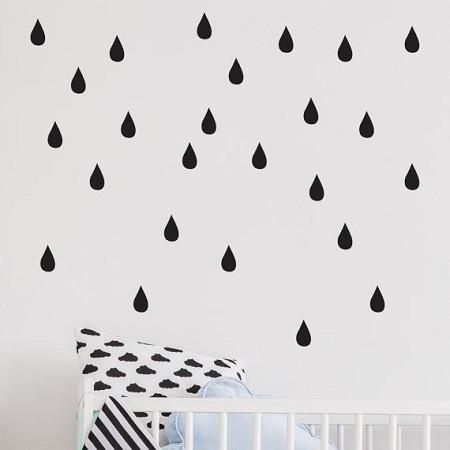 Raindrop wall sticker , £12