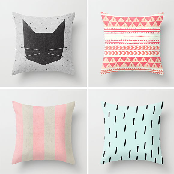 Top R: Wesley Bird / Top L: Alice Rebecca Potter / Bottom L: Her Art / Bottom R: One Happy Mess