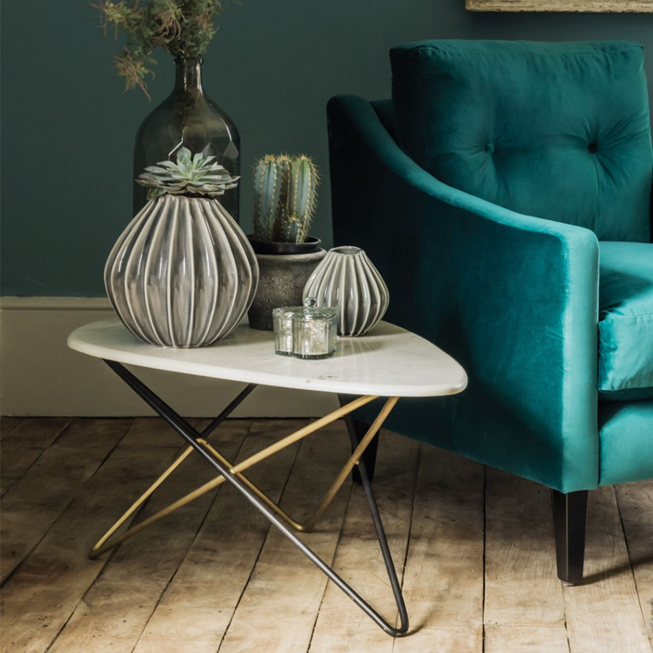 Detroit Oval Coffee Table , £250 - Graham and Green
