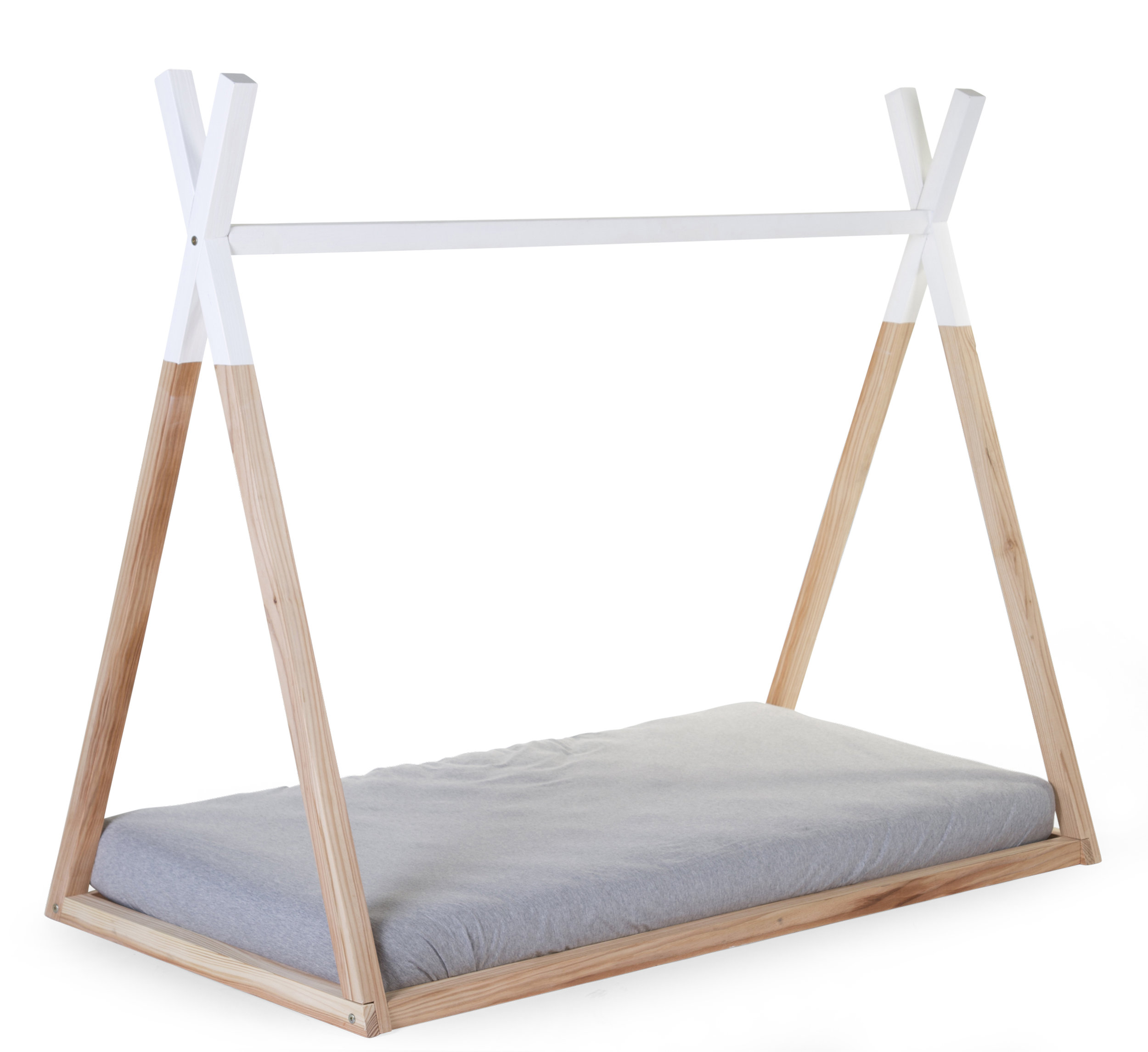 Tipi bed, from £89.95, available from  Cuckooland.com  from 1st July (cot size:148cm x 79cm / single size;208cm x 98cm)