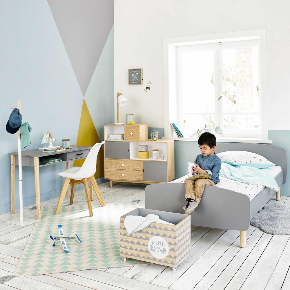 Wooden bed  (various colours), £223, Maison du Monde (196cm x 104cm)
