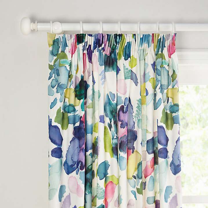 Bluebellgray Palette Lined Pencil Pleat Curtains  - John Lewis - varying sizes and prices
