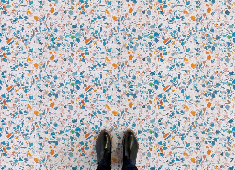 Terrazzo effect vinyl flooring - Atrafloor