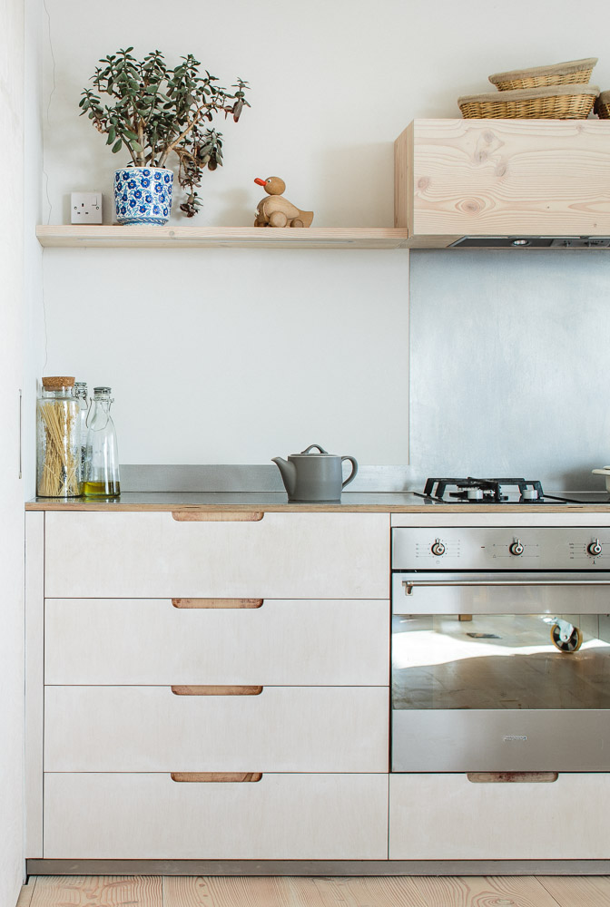plywood kitchen - Sustainable Kitchens