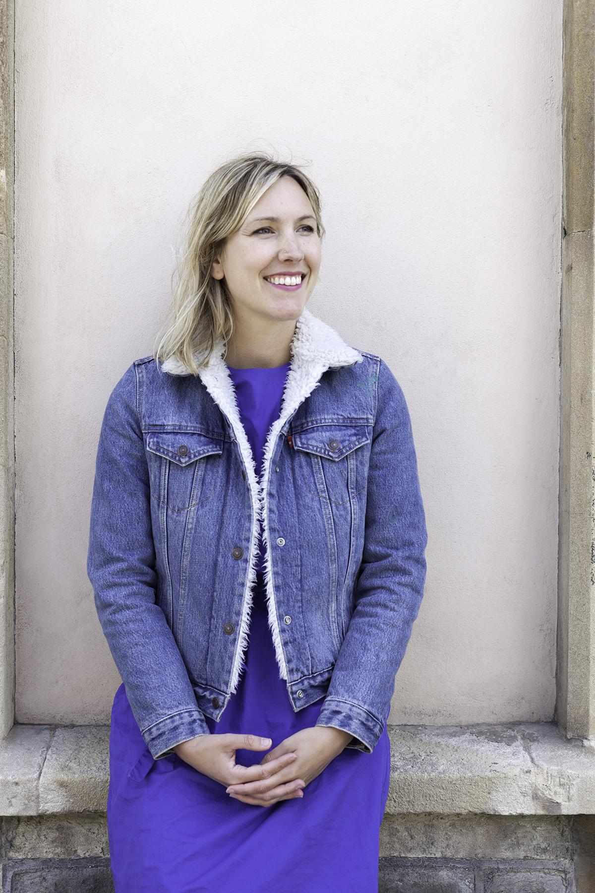 Founding editor Helen. Photo: Kasia Fiszer