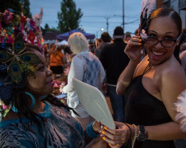 """""""Last Thursday"""" of every month turns Alberta Street into a festival."""