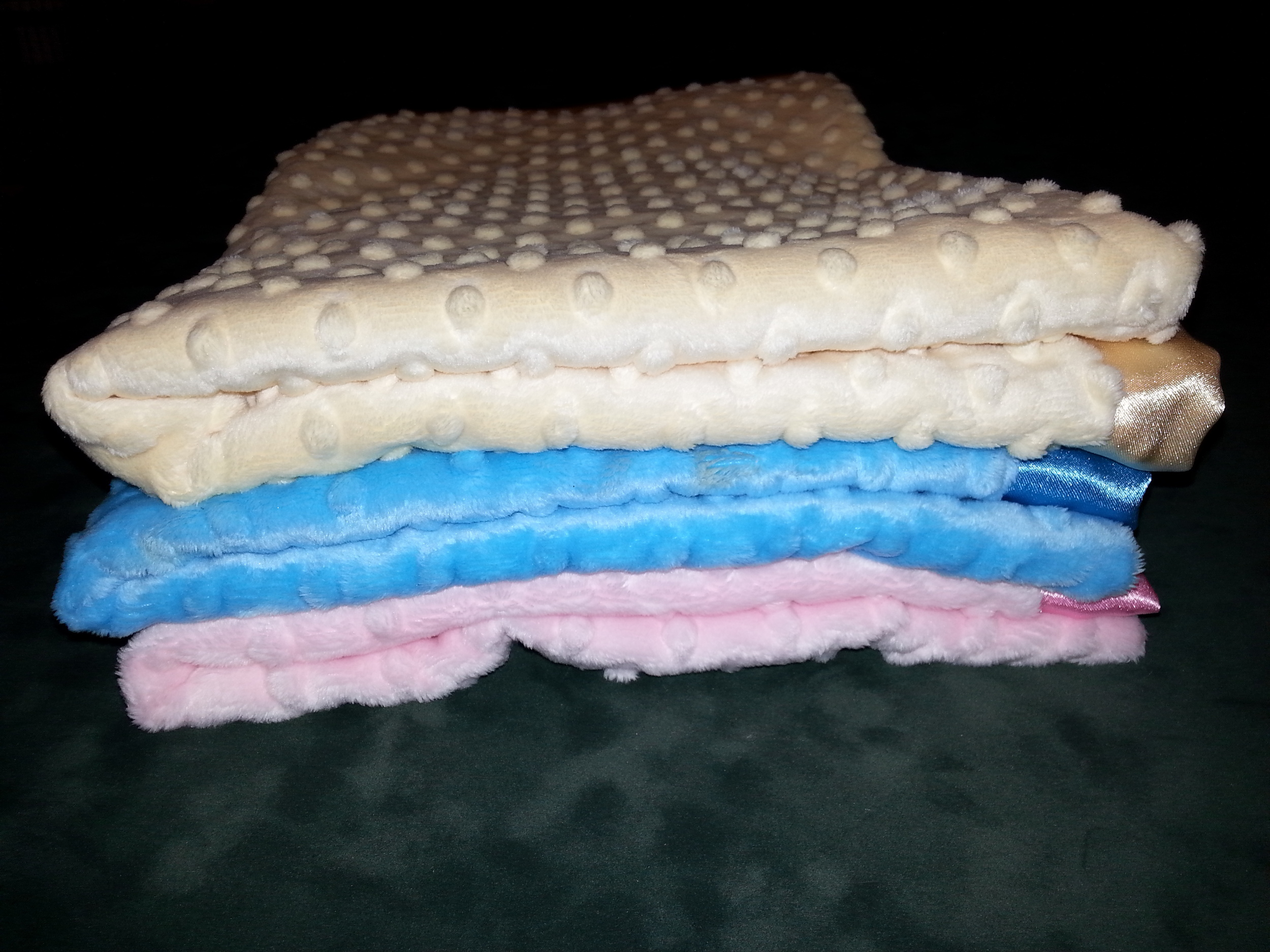 Baby blankets.