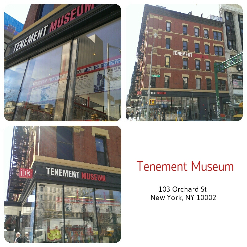 Tenenment Museum 103 Orchard St. New York, Ny 10002  We've had many customers that stopped by our store after visiting the historic Tenement Museum. It was originally an apartment building built in 1863, and was home to over 7,000 working class immigrants! Did you or any of your family members emigrate from another country? Imagine the challenges you would have faced leaving your country and starting over in America with no money in your pocket! Visiting the museum is like traveling back in time, it's difficult for us to relate to the struggles and hardships that our ancestors faced. If it wasn't for them we wouldn't have become the melting pot of the world! Visit the Tenement and make sure you take a walking tour of our historic neighborhood of Lower East Side!