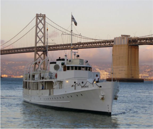 Join Pride Law Fund on our Annual Bay Cruise on the USS Potomac!
