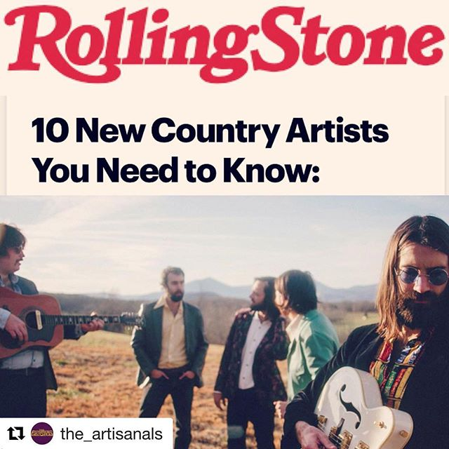 Looking good in @rollingstone