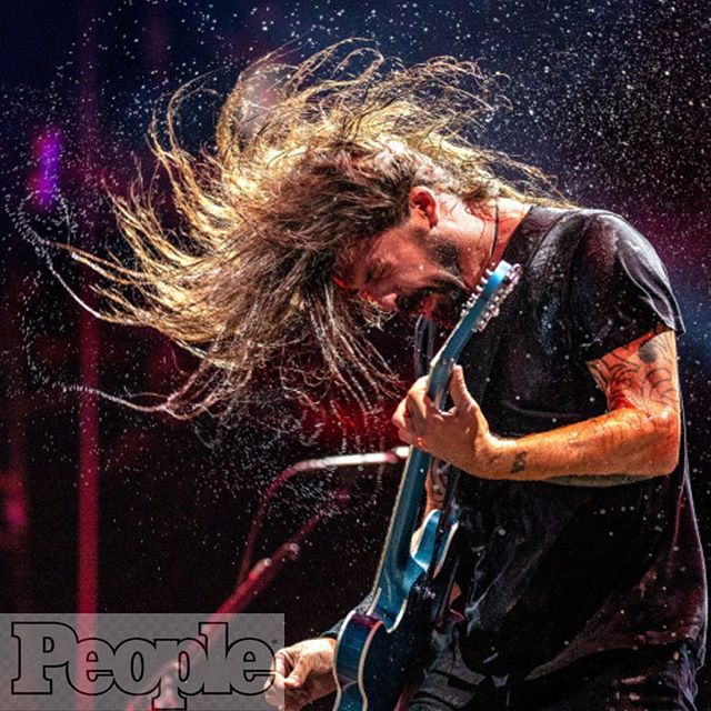 "This is the last day (of 5) that we'll be shouting out to the media folks that helped pen and capture #kaaboodelmar 2018, and I think we saved the best for last: have you ever seen a photo that screamed more rock n roll!?! #foofighters slaughtered the stage and were a definite fan (and team) favorite. The venerable @polkimaging 📸this photo right after #davegrohl doused himself with water. It appeared in a collection of ""10 photos You Need to See from KAABOO"". #myhero * * * * #kaaboodelmar2018 #thankaphotographer #publicitylife #festivallife #weloveyouchrispolk"