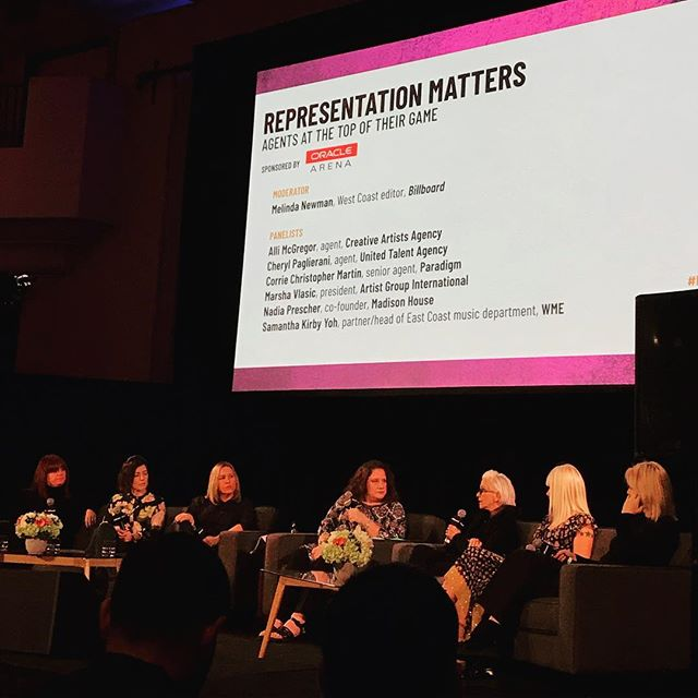 Attending the #billboardlive summit in LA and listening to a bunch of badass women talk about the art of booking and growing an artist. Tomorrow Crissa will speak on a panel about the evolution of PR * * #musicindustry #womeninmusic #prlife