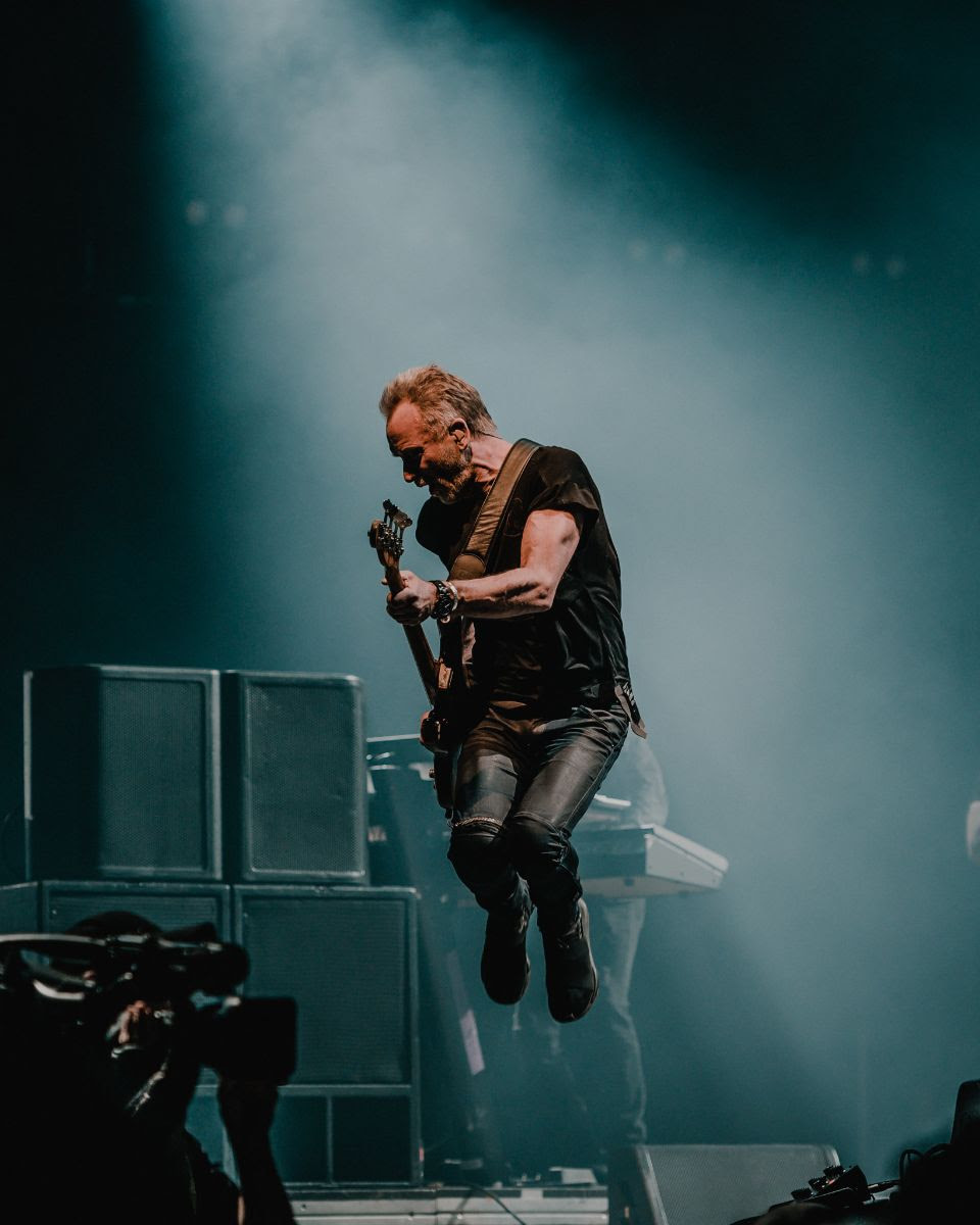 KAABOO Texas  caps the weekend with a headlining performance from  Sting  May 12, 2019 -- AT&T Stadium, Arlington, TX. Photo credit: Alive Coverage