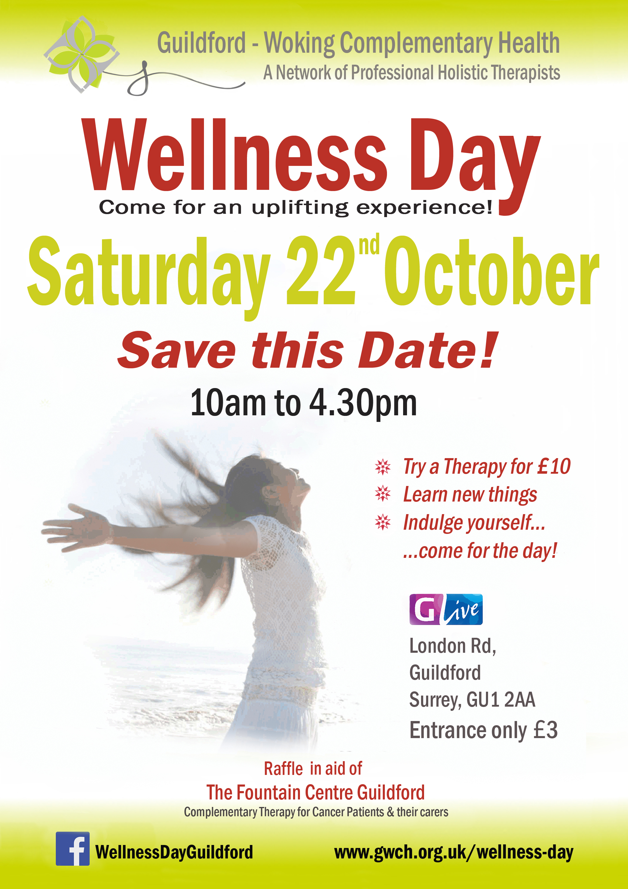 guildford surrey glive holistic and wellness event www.susanemma.com