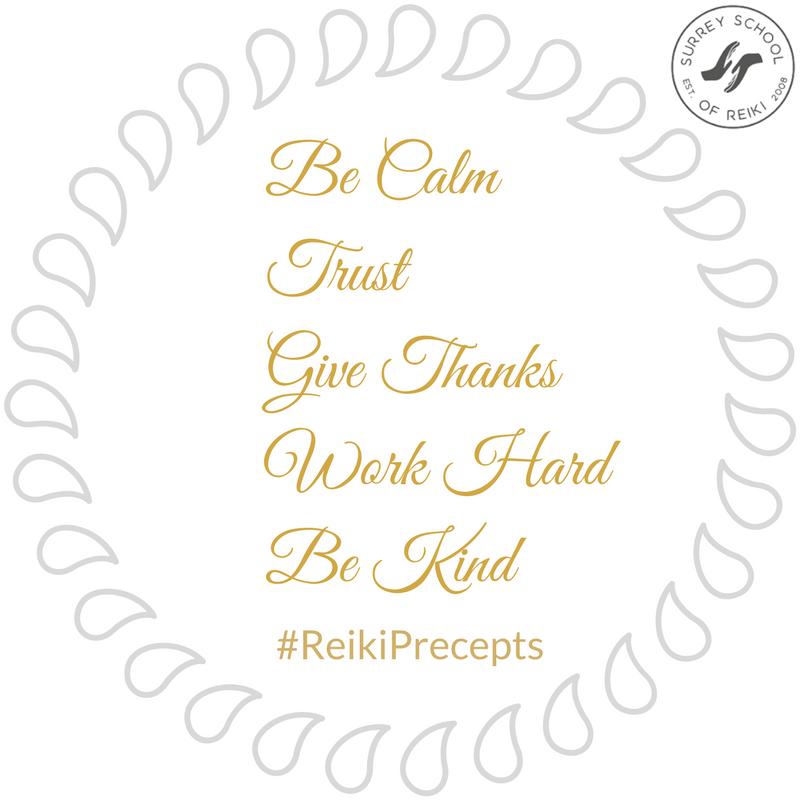 Reiki Principles Reiki Precepts www.susanemma.com
