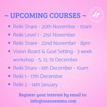 UPCOMING COURSES _ November Surrey School of Reiki www.susanemma.com.jpg