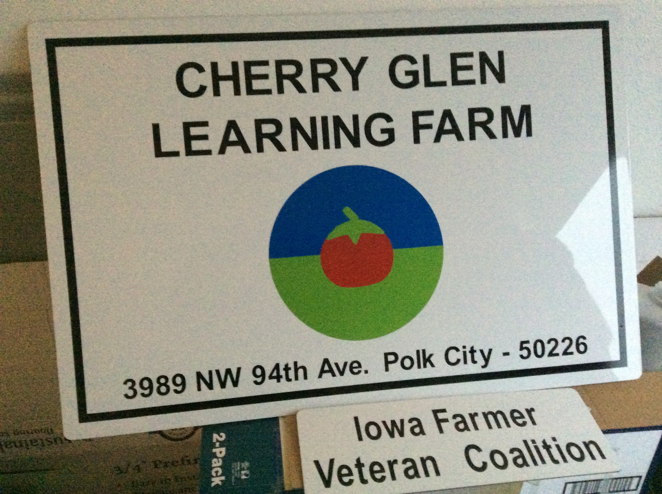 Ray has been working with collaborators to incorporate his new learning farm as a nonprofit organization.