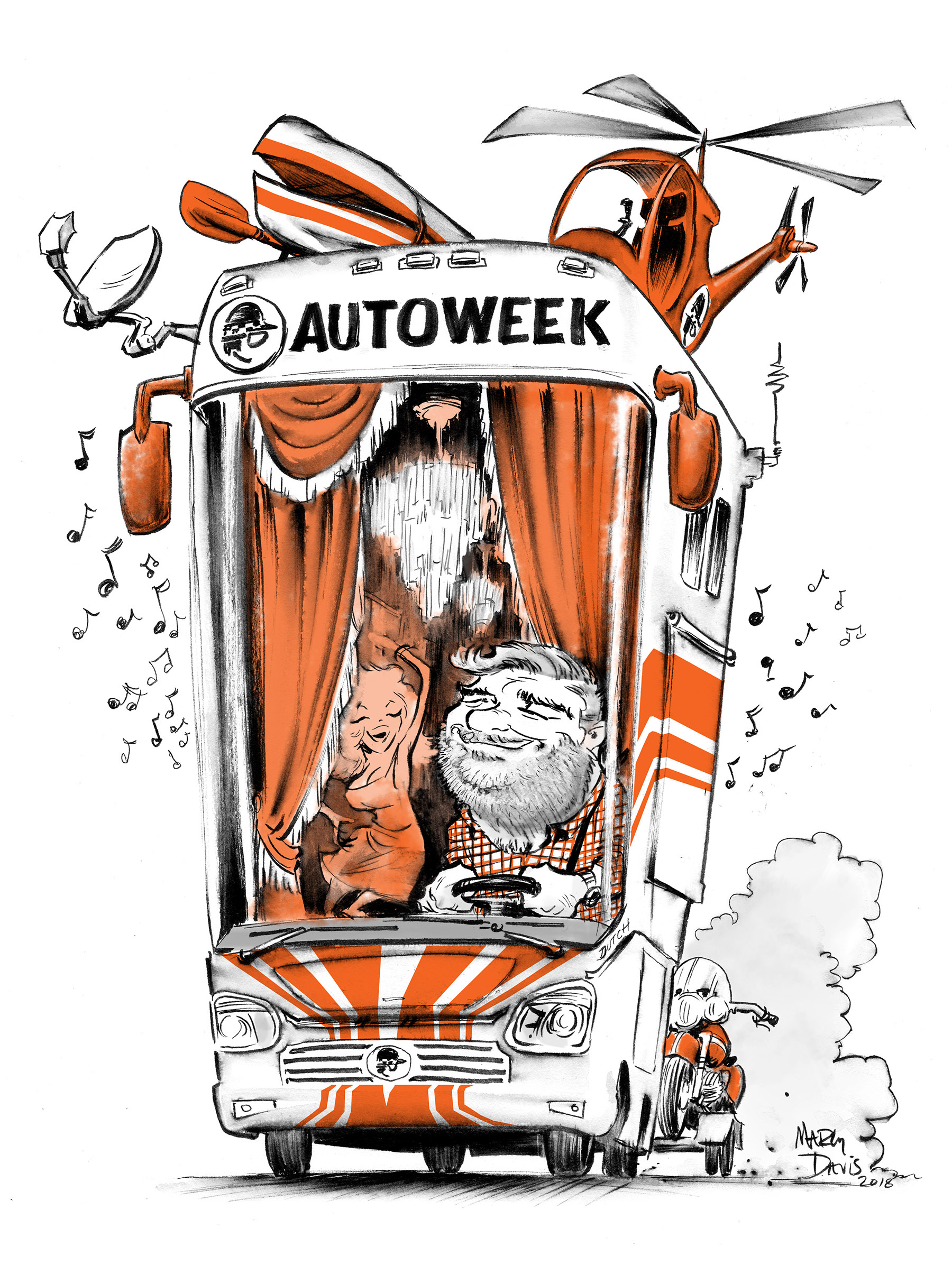 editorial for autoweek