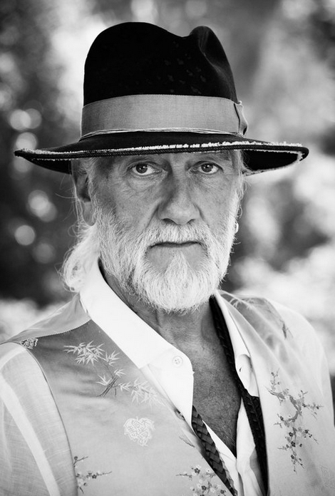 Mick Fleetwood for Mojo Magazine