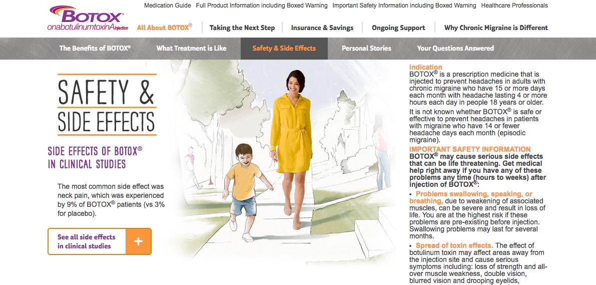 Boxtox for Migraine Campaign