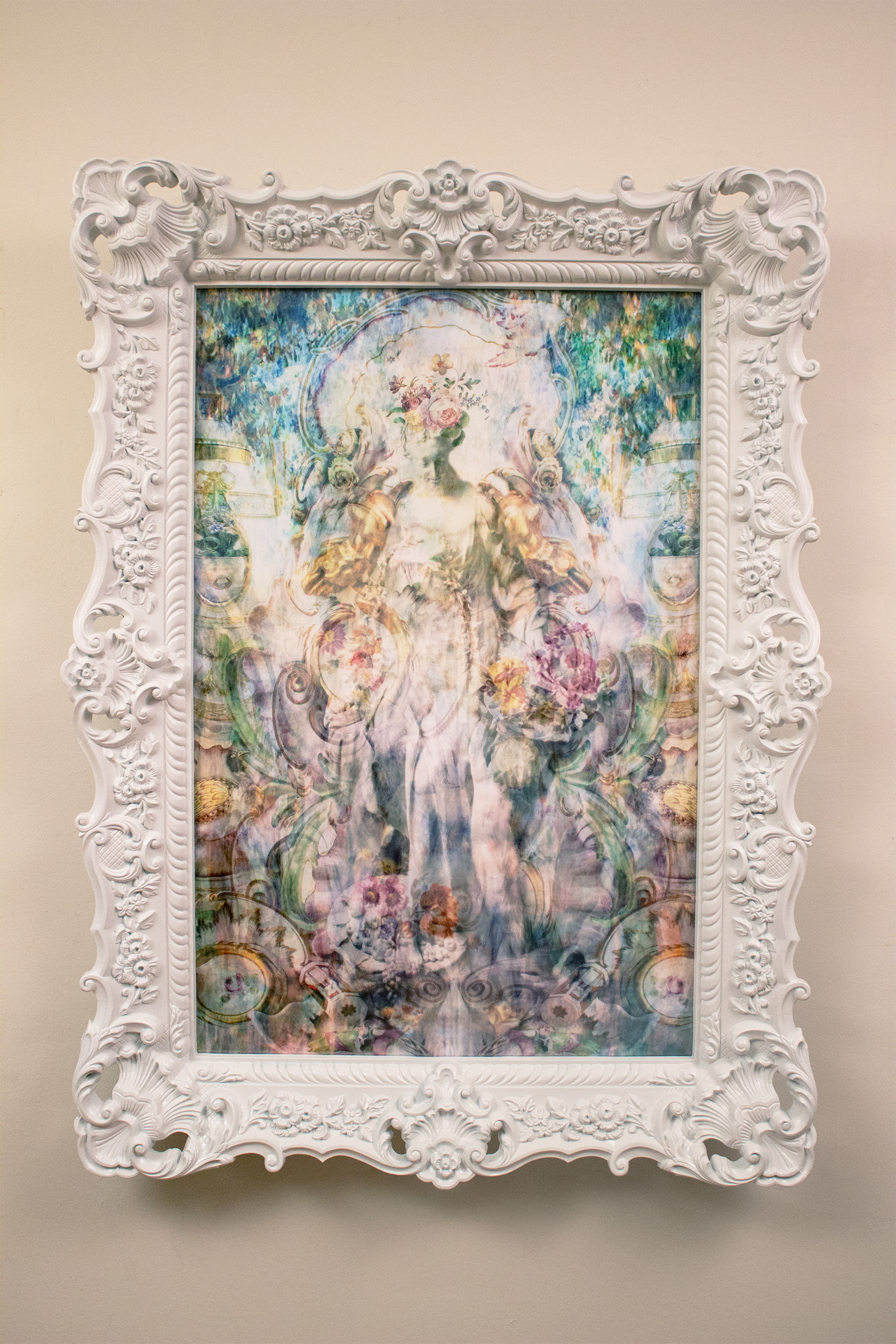 Flora as Spring , 2015.  Pigment Print on Luster Paper  33 in. x 45 in. (includes frame)