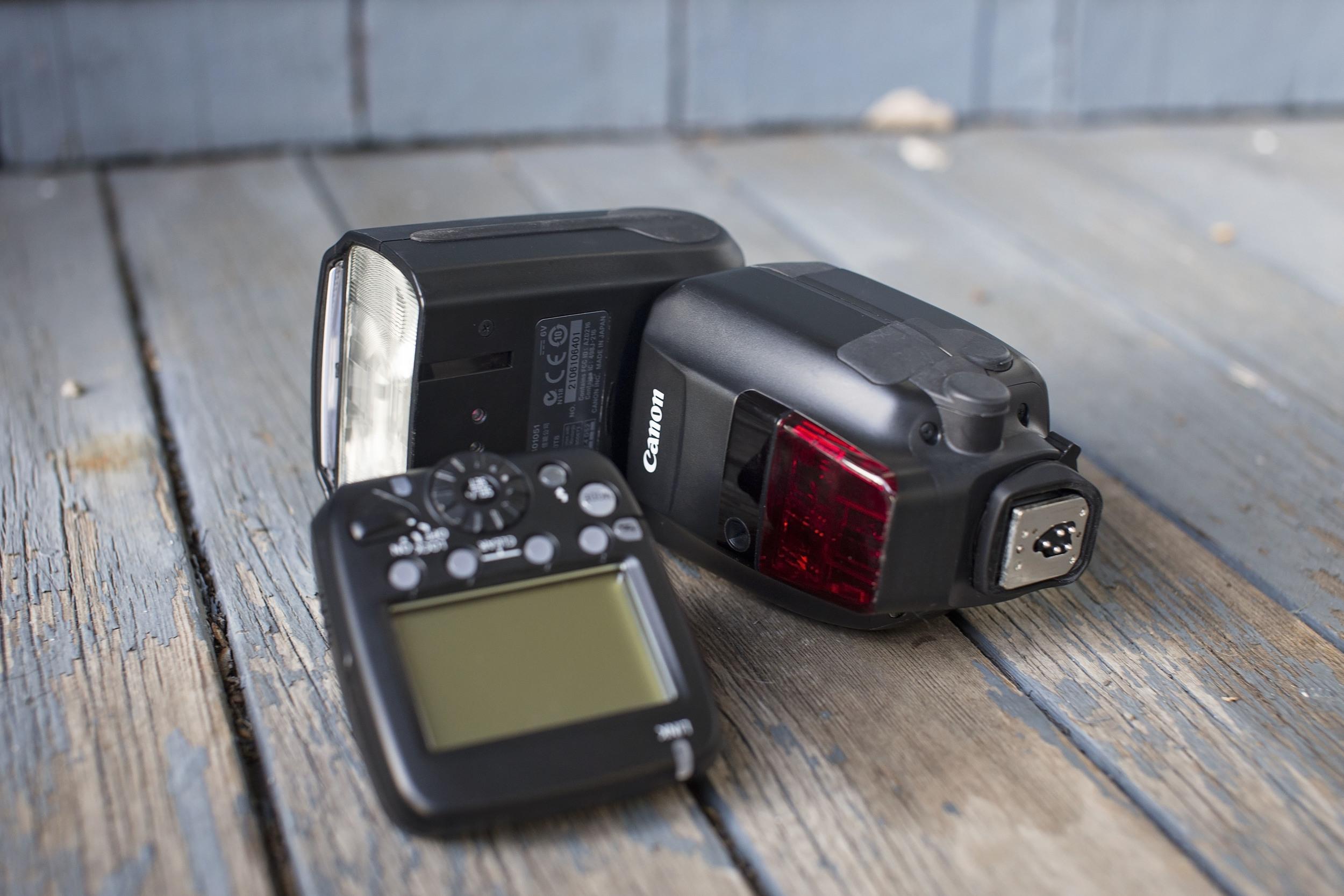 Canon 600EX-RT Speedlite and Transmitter