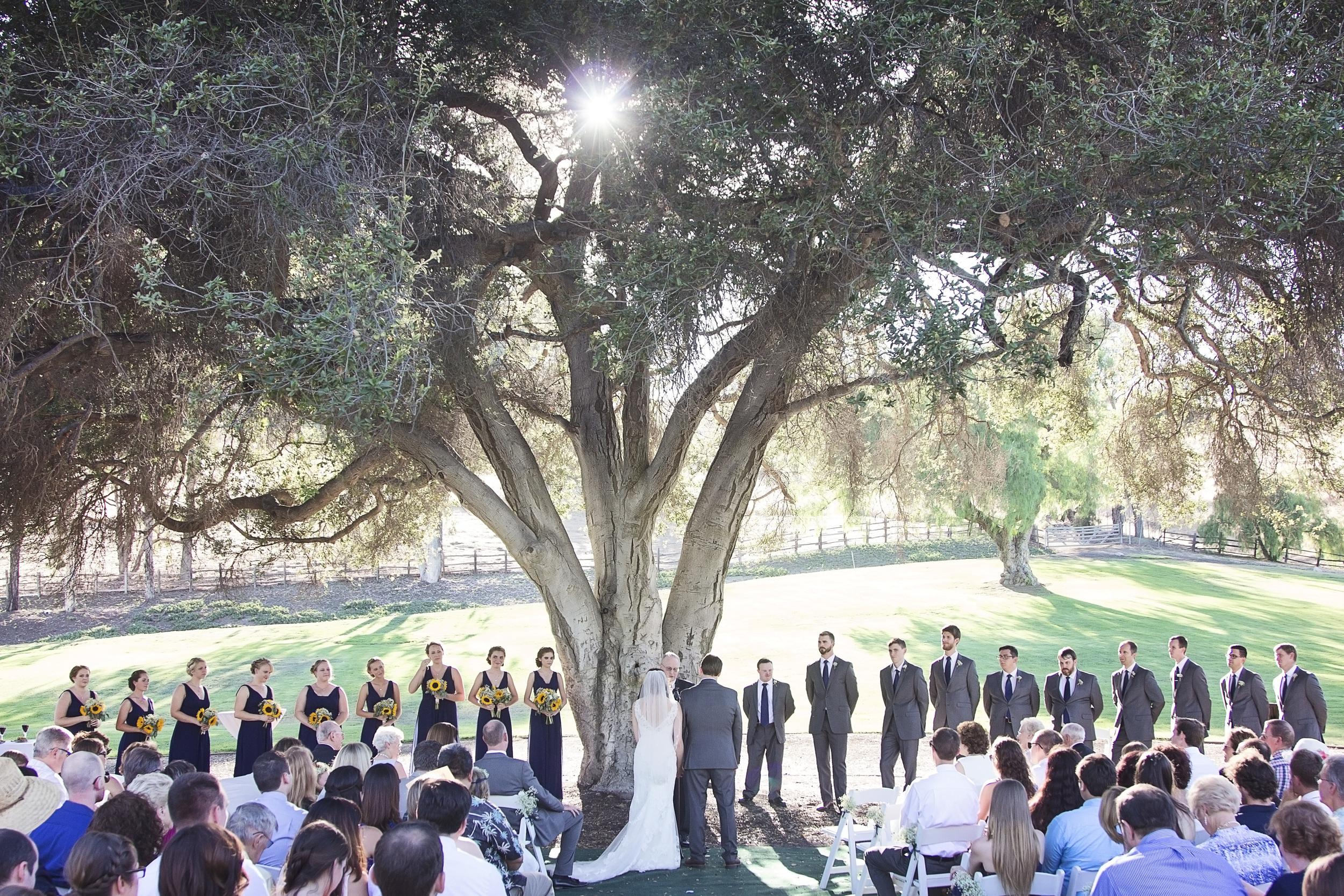Wedding ceremony, Orange County, California