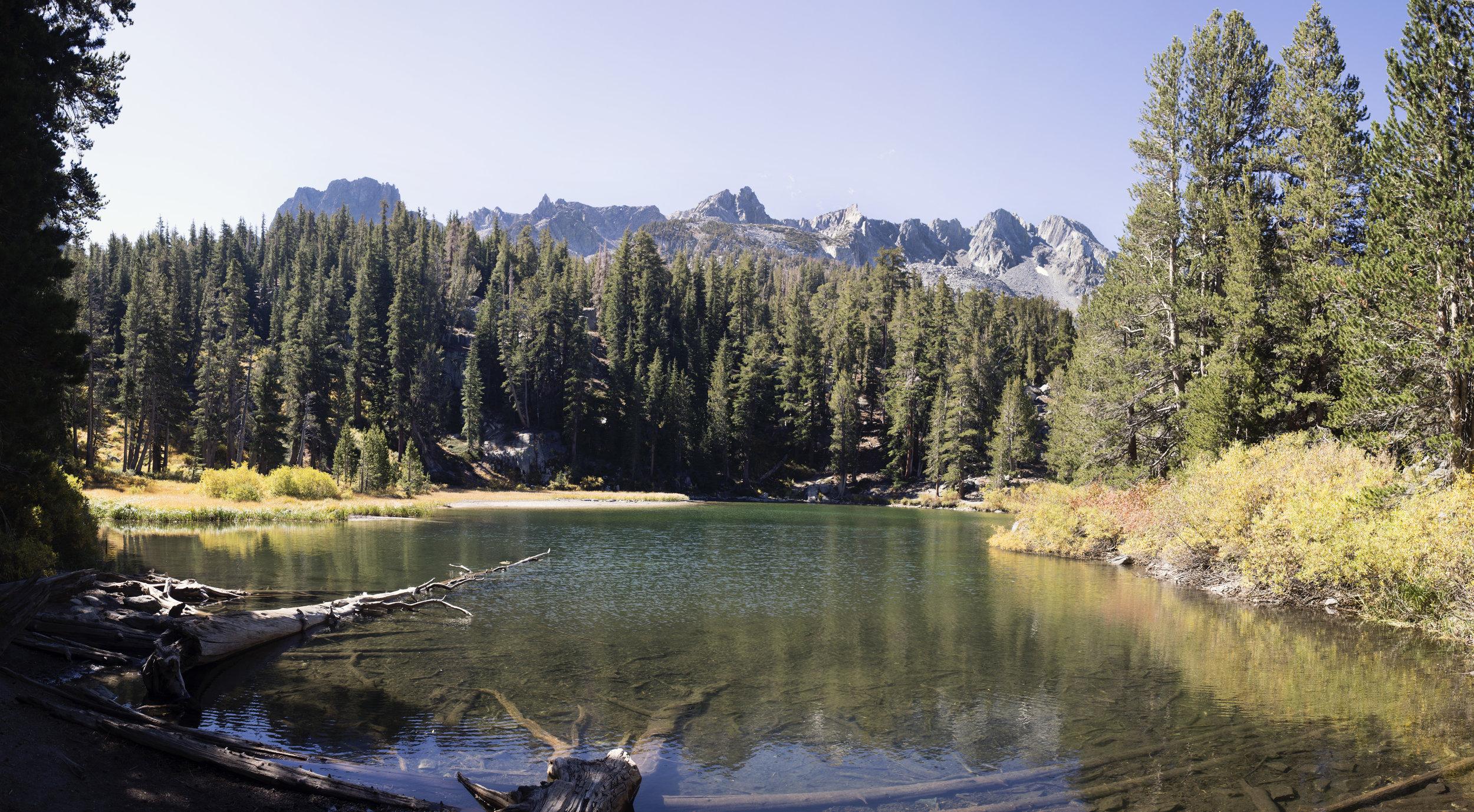 Emeral Lake, Mammoth Lakes, California