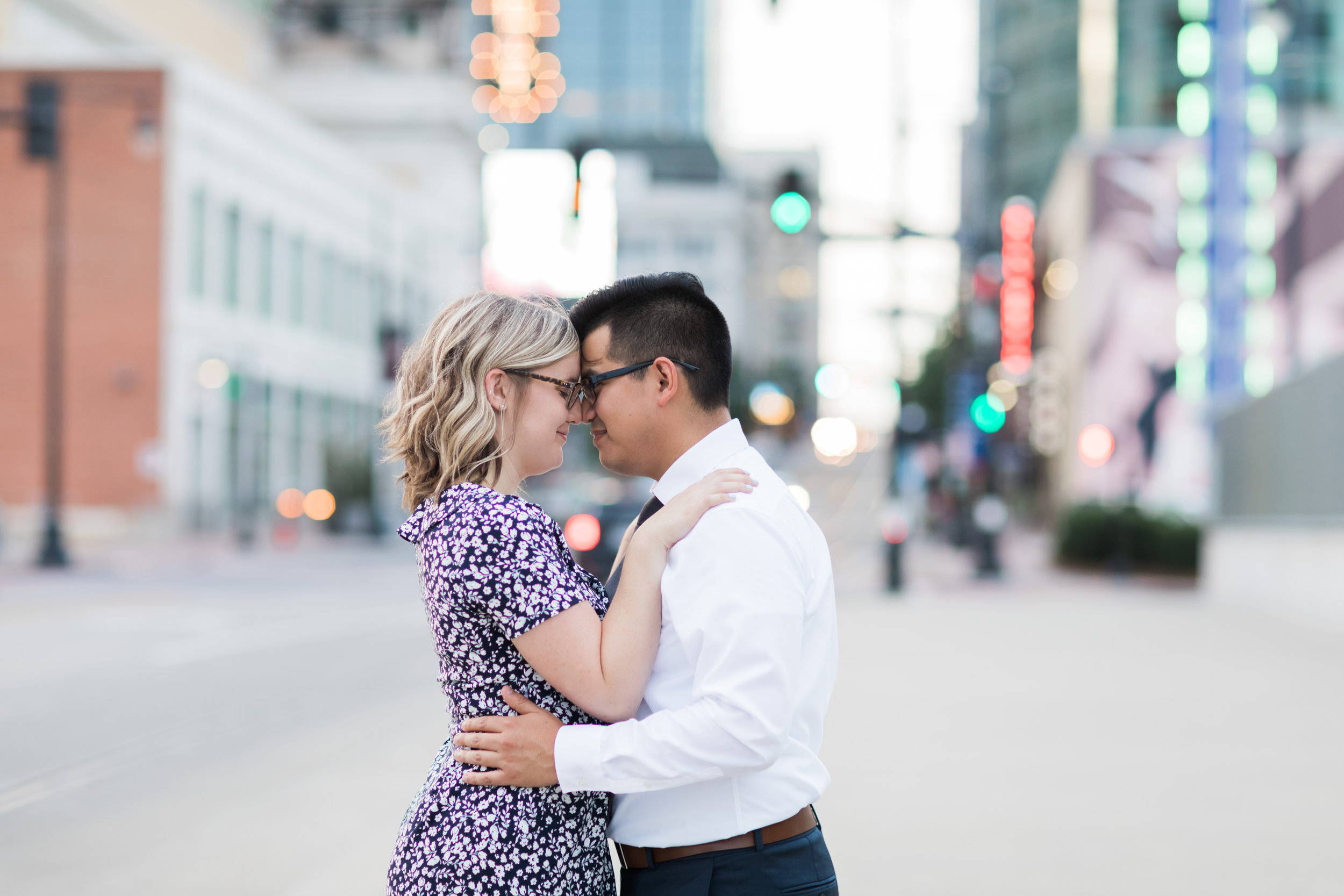 Downtown KC Engagement