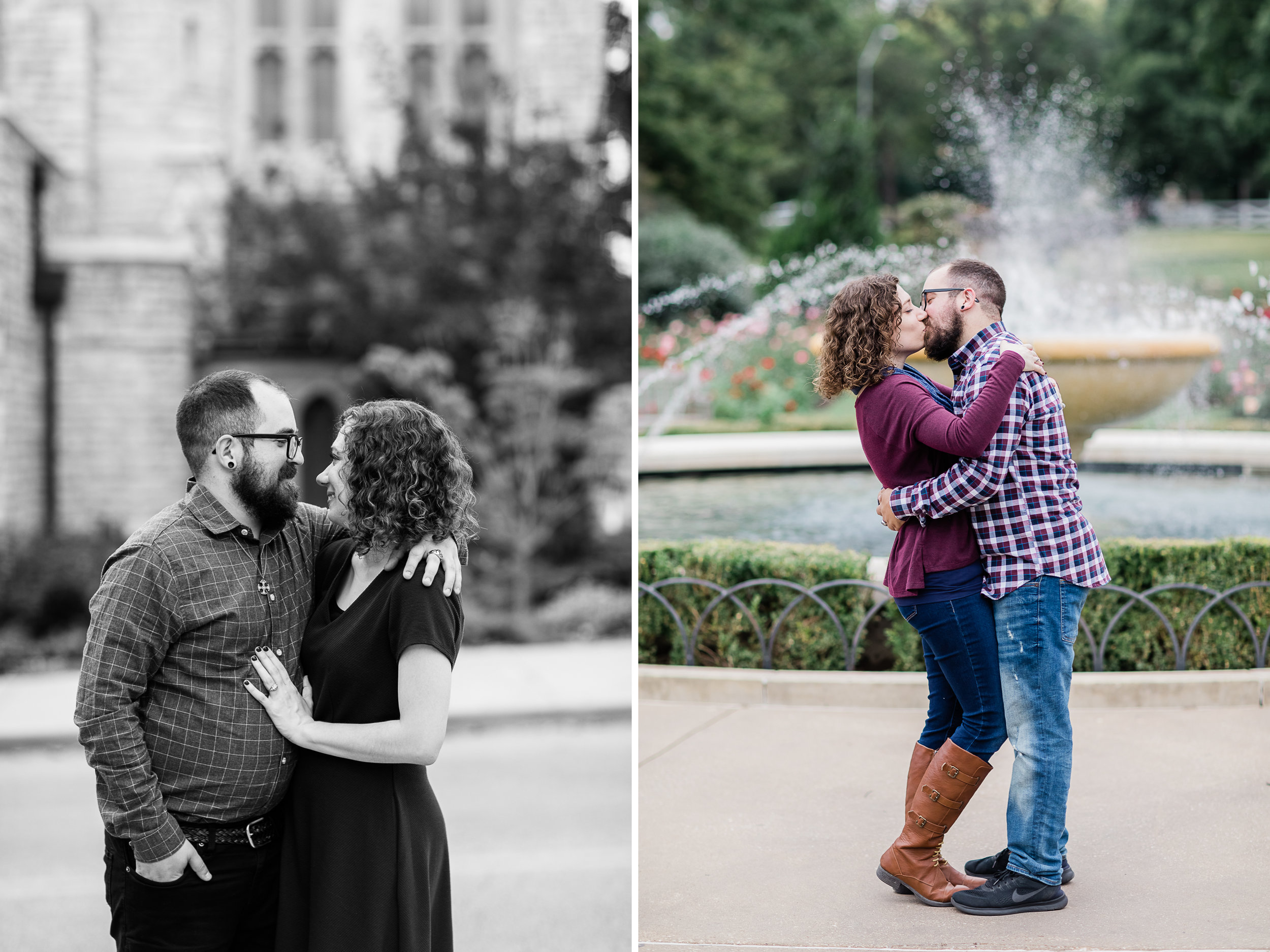 Loose Park Fountain Engagement Photo 1.jpg