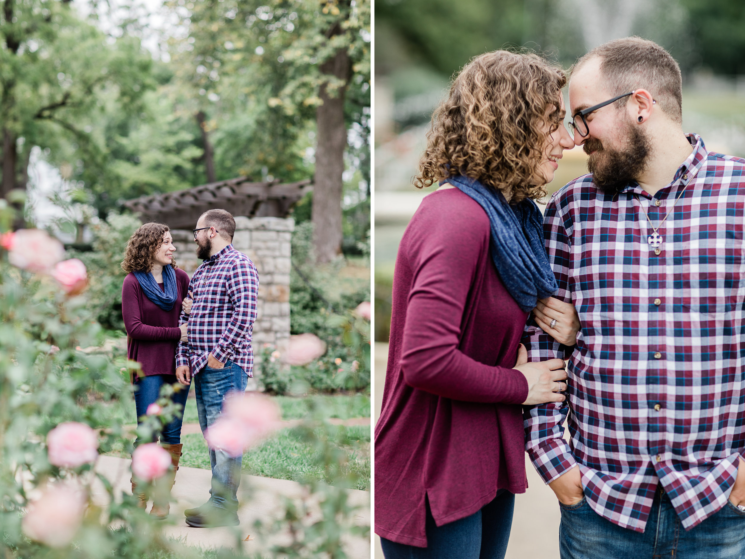 Loose Park Rose Garden Engagement Photos 1.jpg