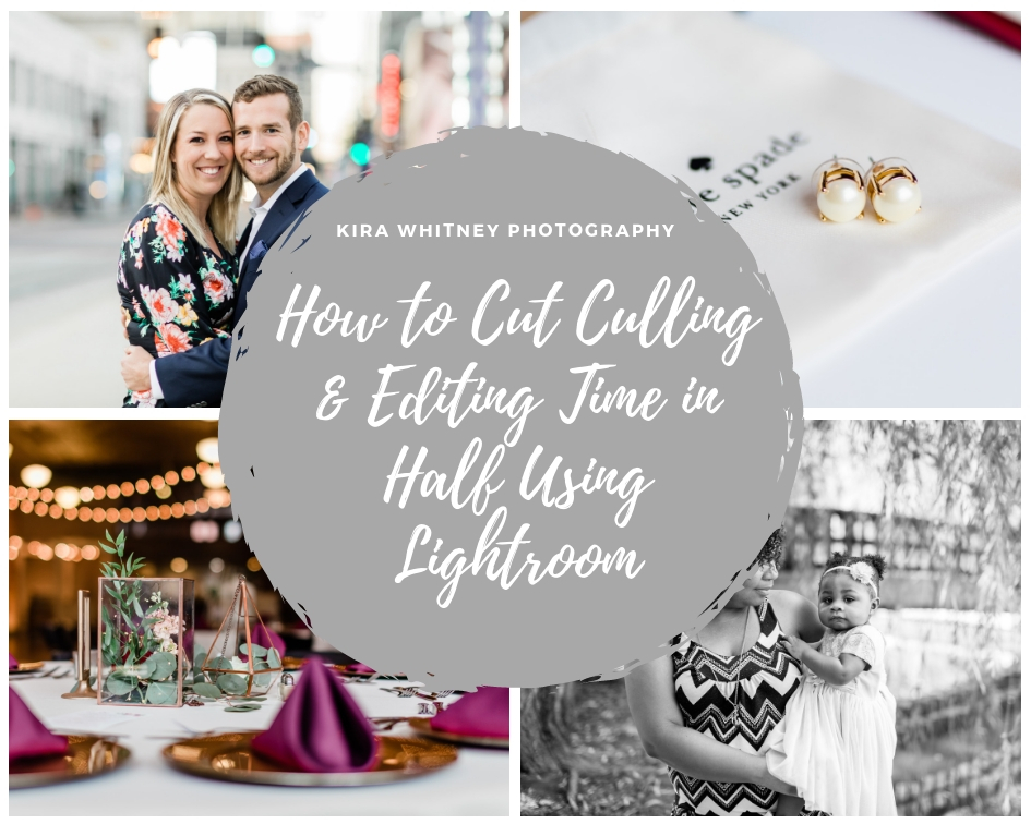 Save time on culling and editing in Lightroom for faster workflow