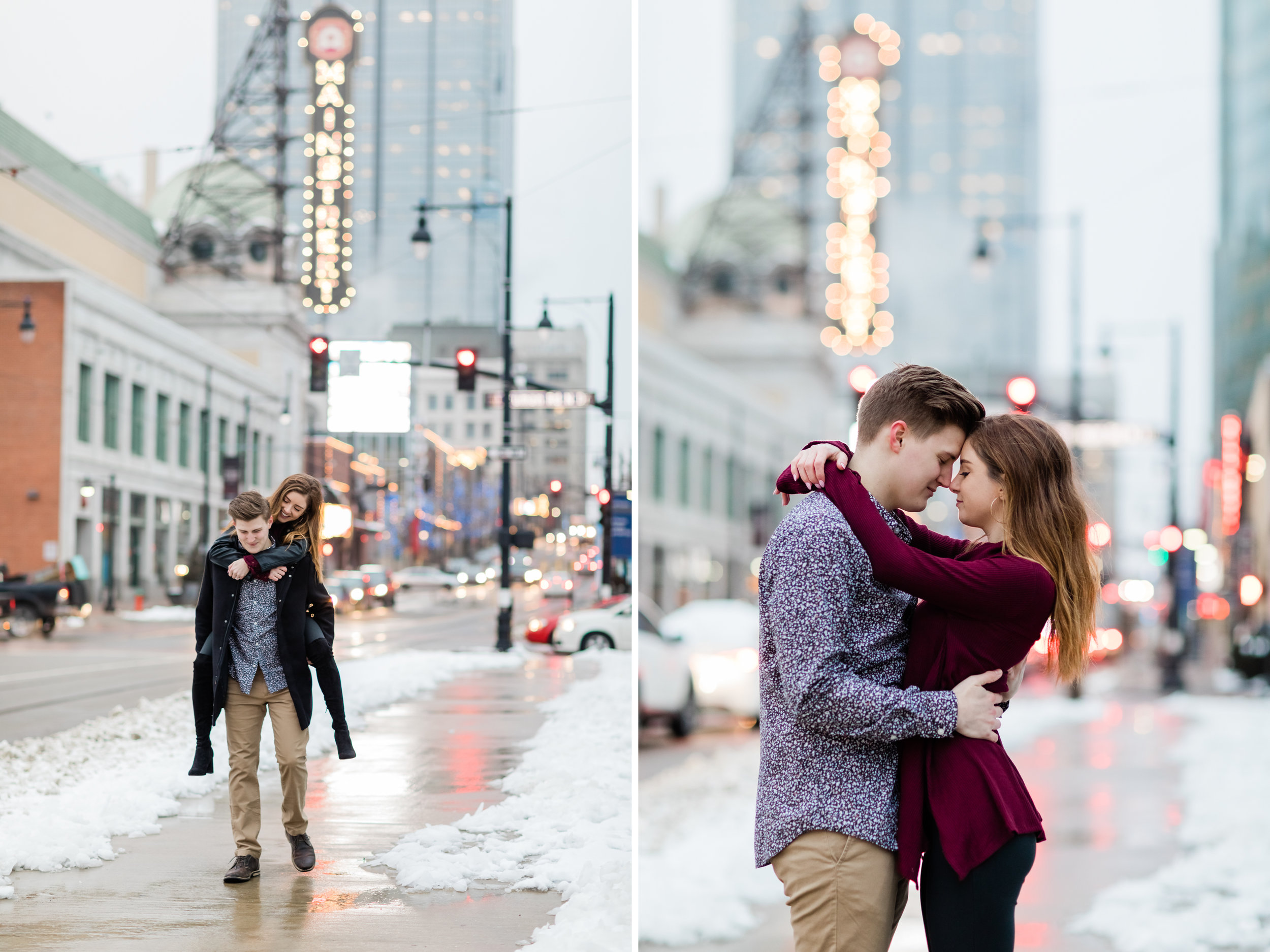 engagement session included in wedding package