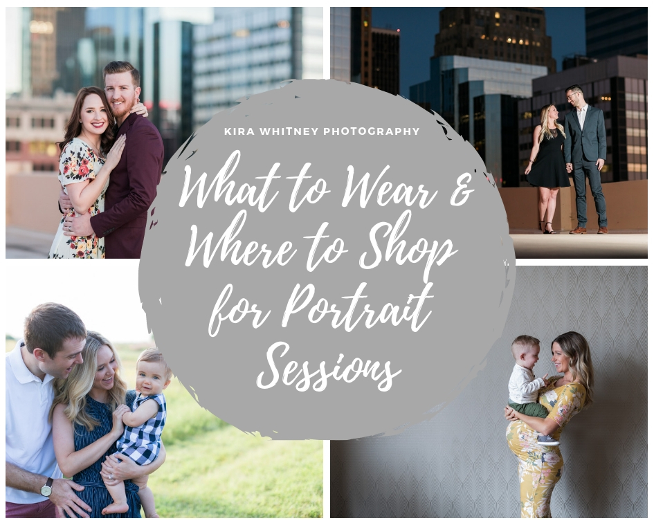 What to wear and where to shop for portrait sessions