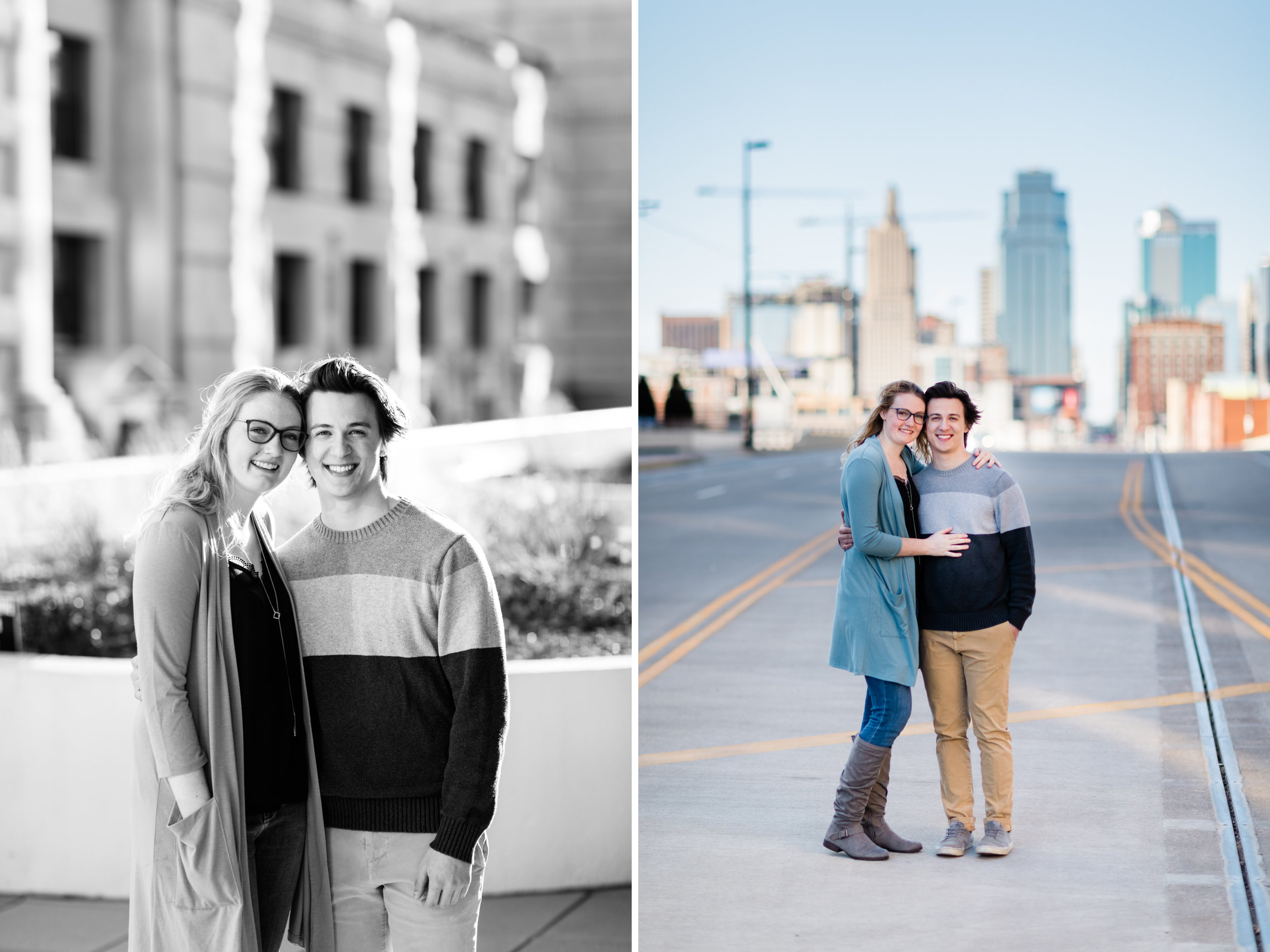 Downtown Kansas City Union Station Engagement Photo 9.jpg