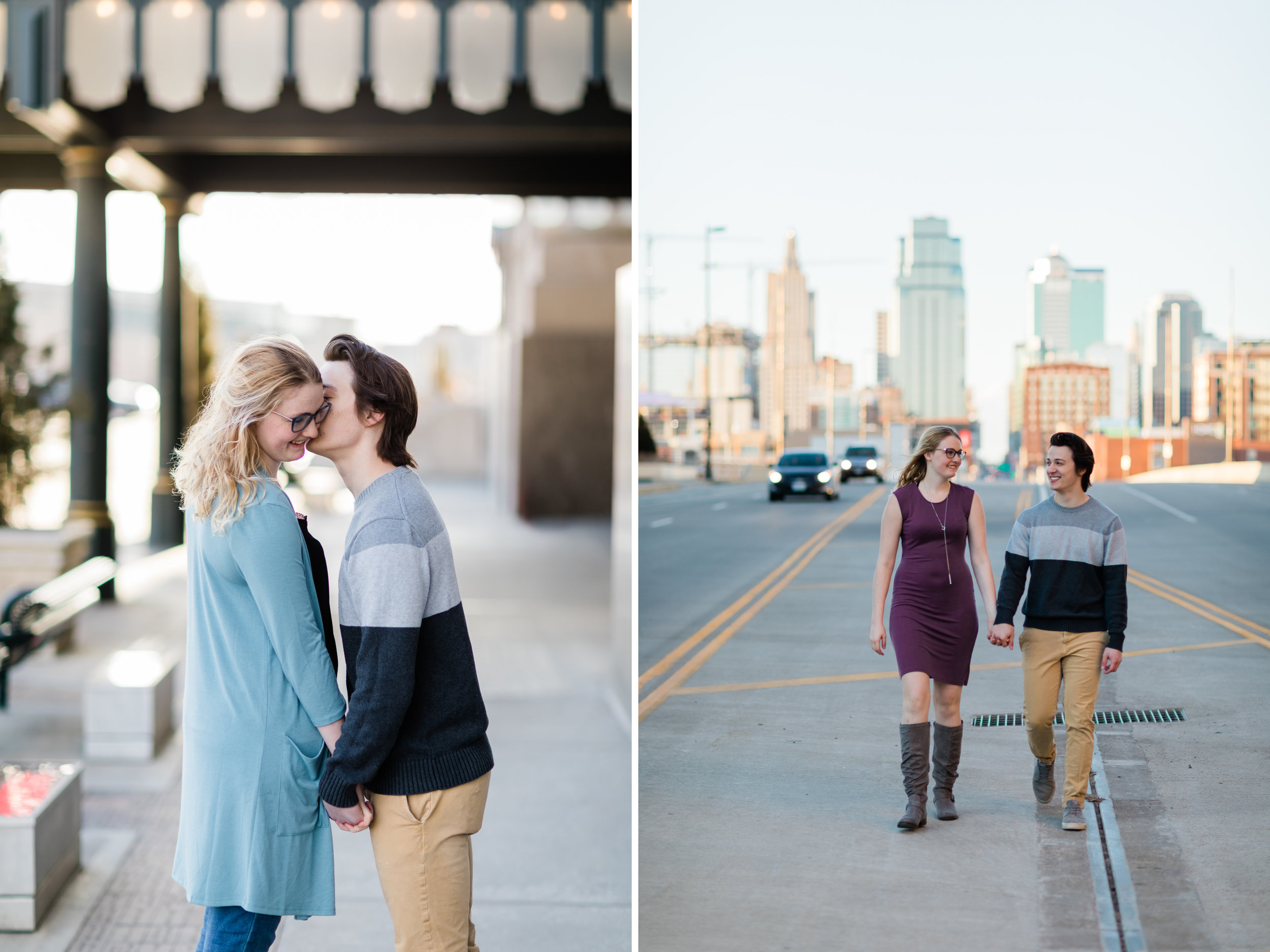 Downtown Kansas City Union Station Engagement Photo.jpg