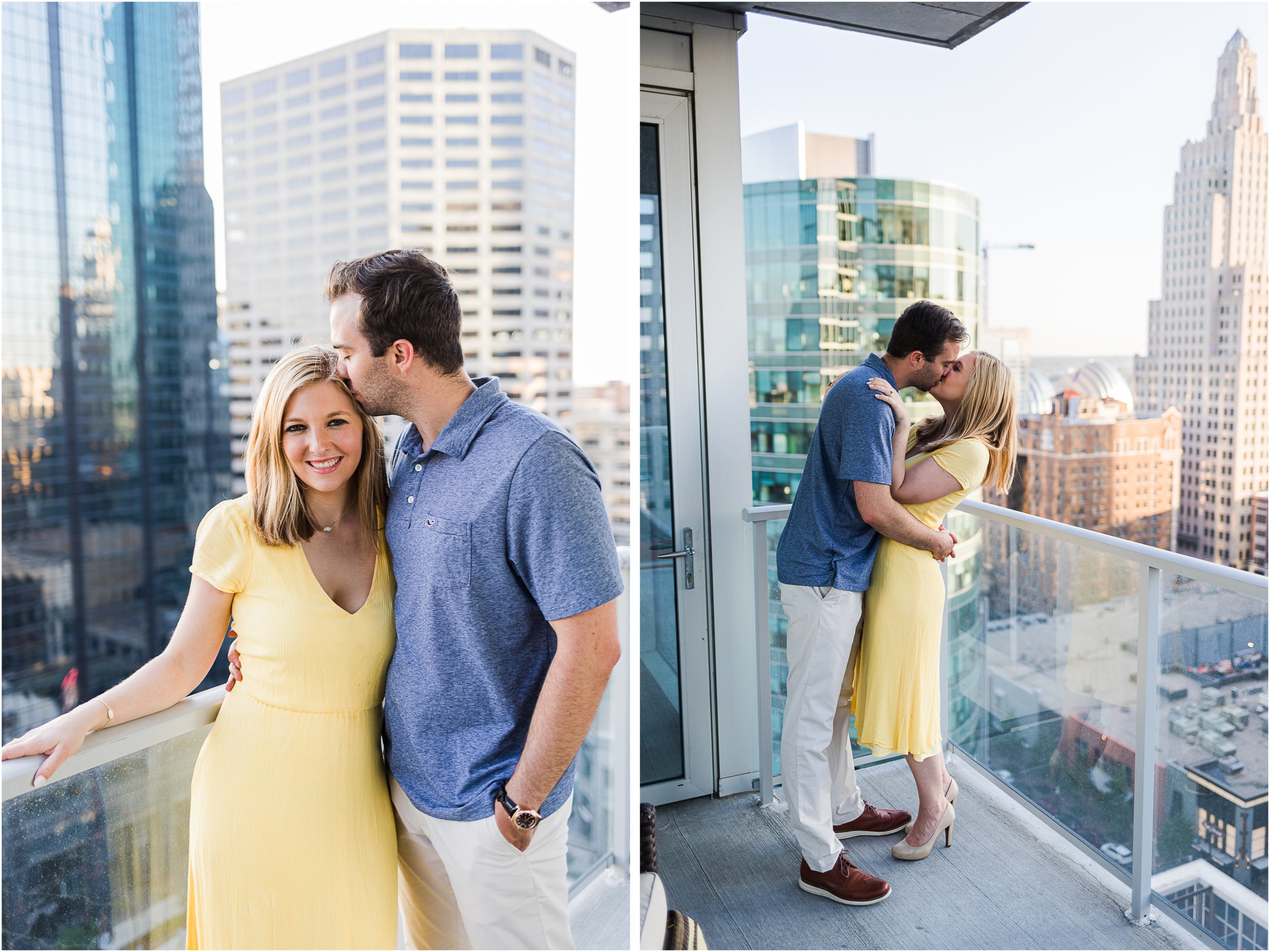 Downtown kansas city engagement photo .jpg