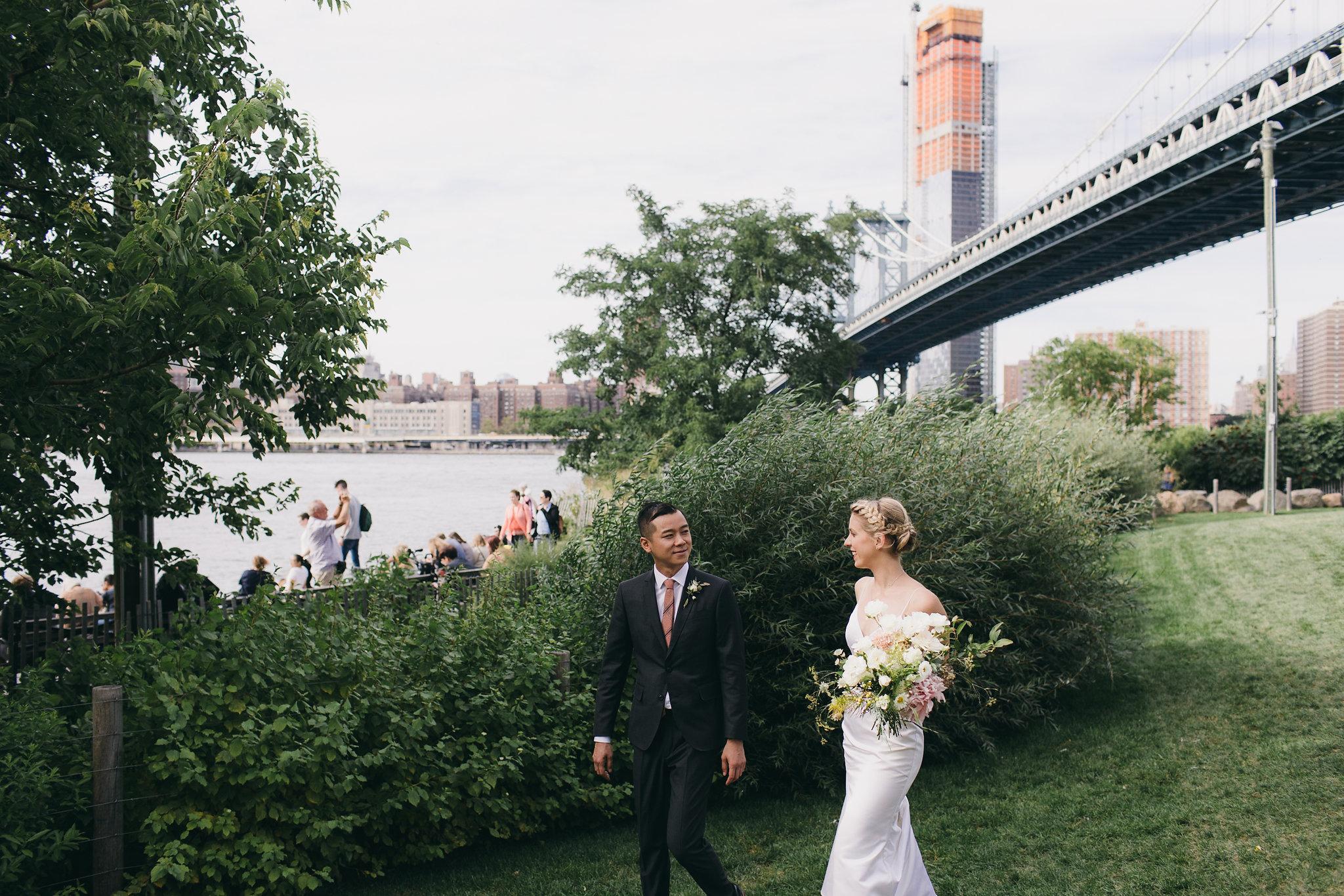Modern Brooklyn Wedding Dumbo