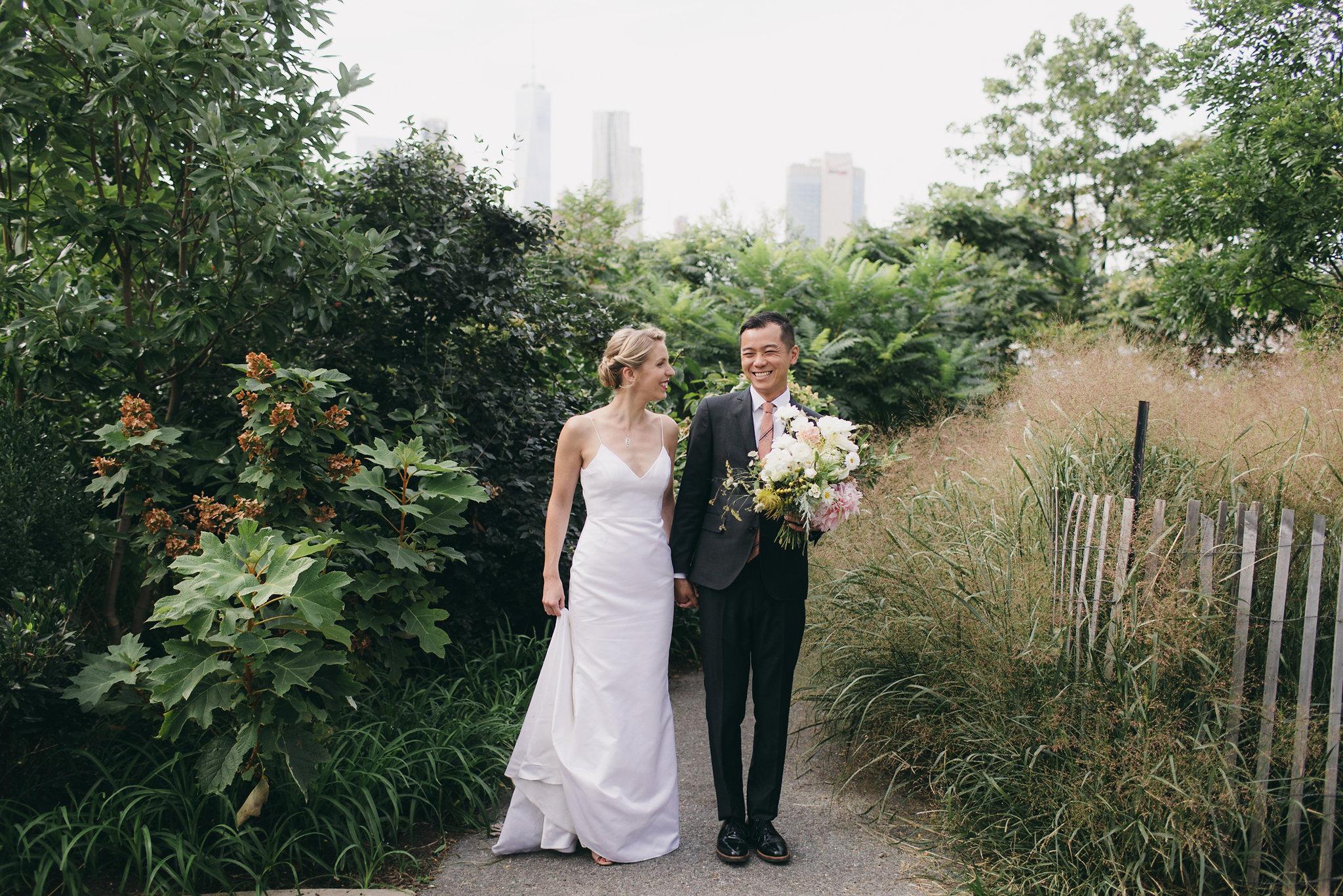 Modern Brooklyn Wedding