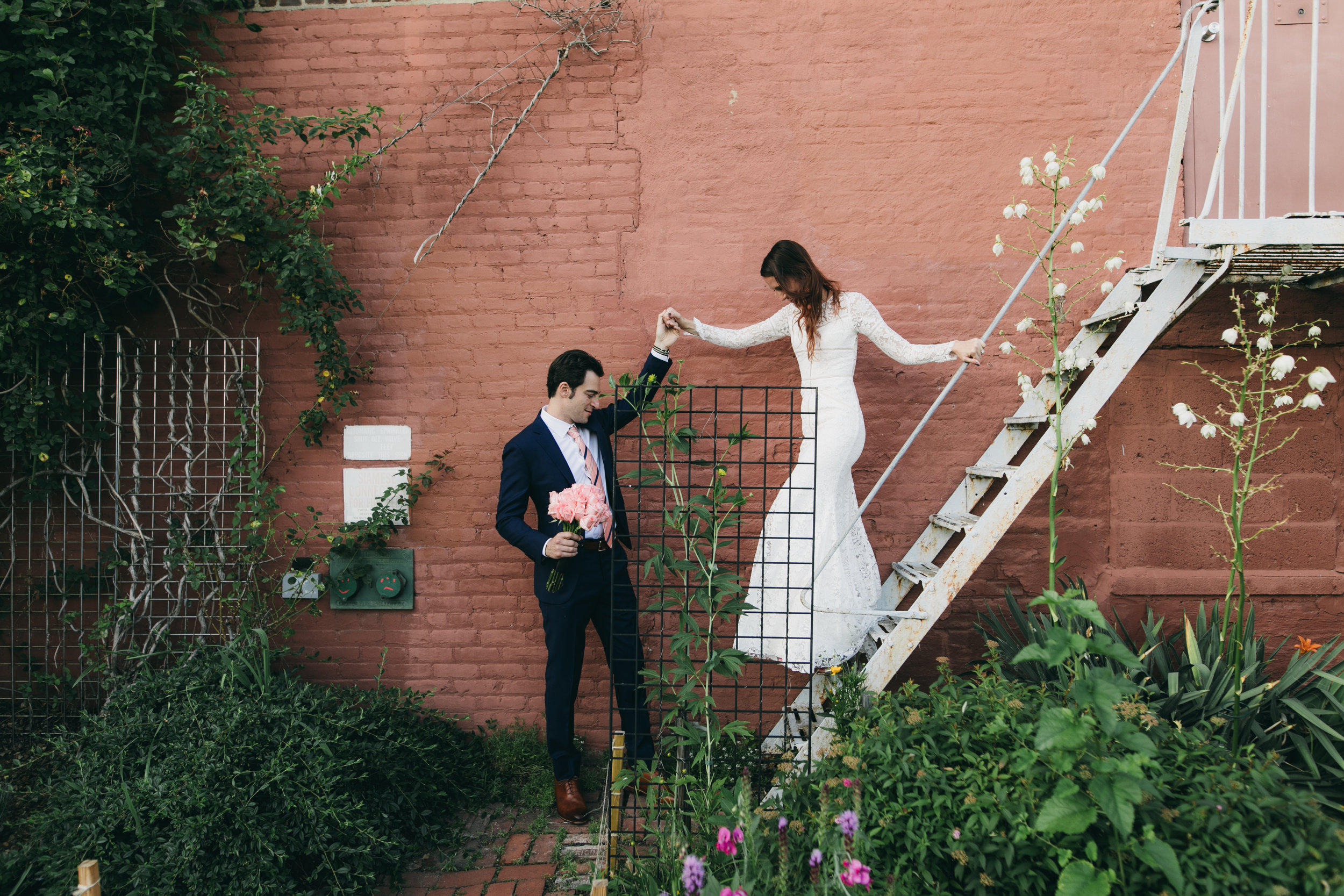 One Night Cereus The Green Building Brooklyn Wedding