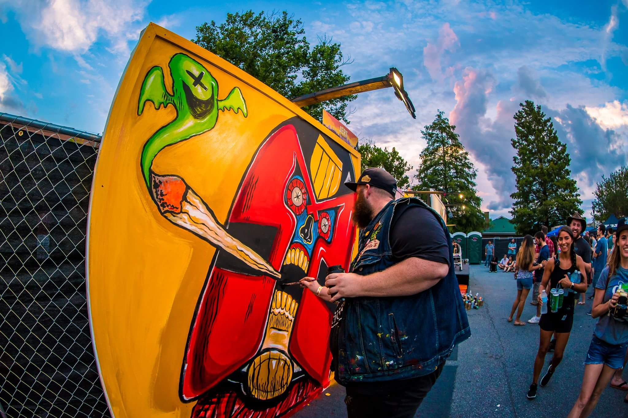 OuterSpace Project Big Bang Block Party, King Plow, West Midtown, 2017